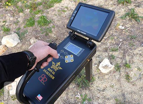 Royal Analyzer جهاز تصويري لكشف الذهب والدفائن