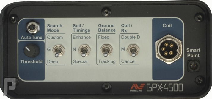 GPX 4500 جهاز كشف الذهب والكنوز الدفينة