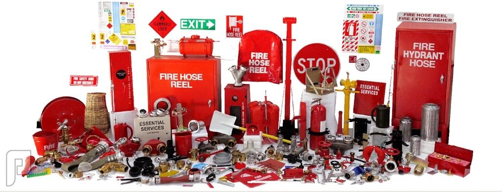 صيانة وتعبئة طفايات الحريق