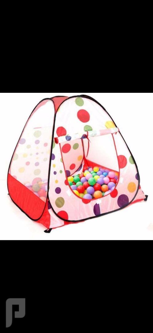 وصلت خيمة الاطفال مع الكور ب95 ريال
