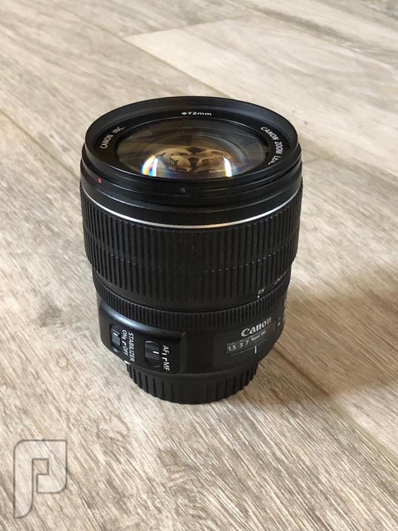 كاميرا كانون 7D بحالة جديدة