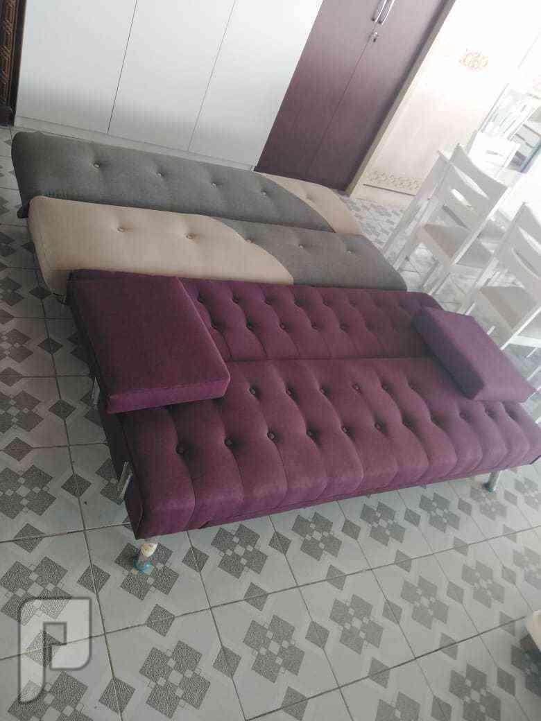 كنب جديد يصبح سرير خامة ممتازة