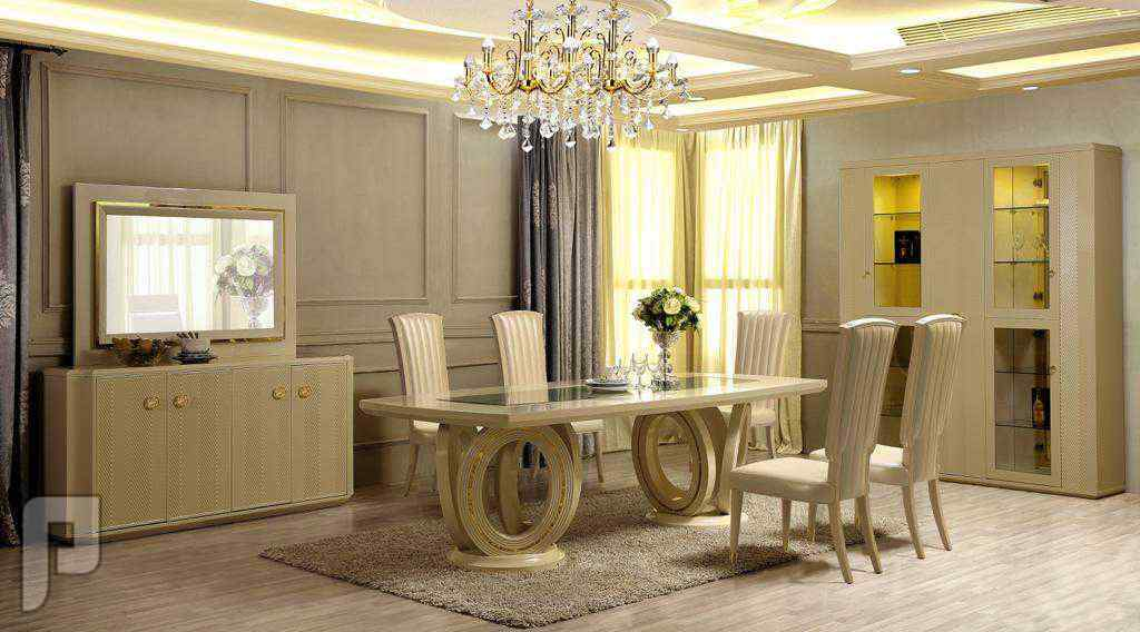 💥💥جديييييد💥💥طقم طاولة خشب صناعة ماليزي 10كرسي