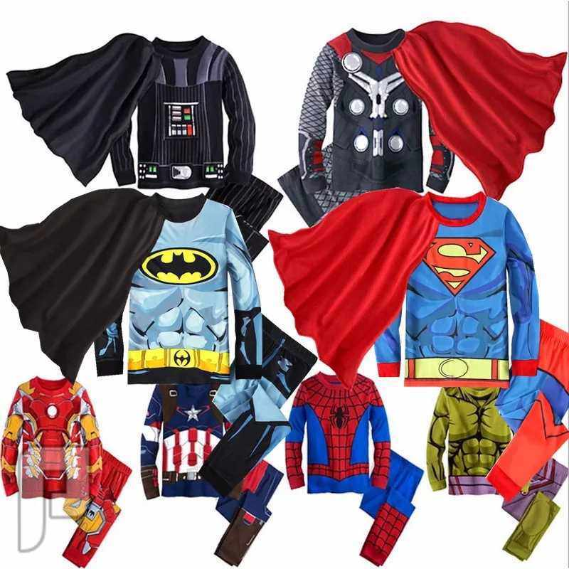 ملابس سبايدر مان ملابس سوبر مان ملابس باتمان