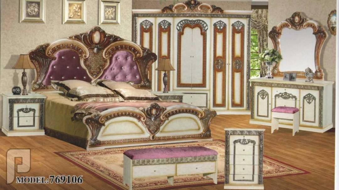 غرف نوم مودرن كلاسيك مميزة وانيقة