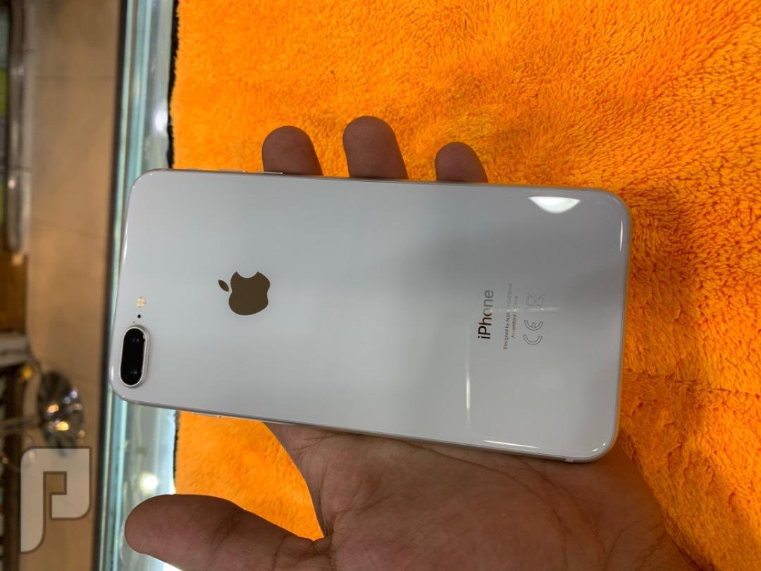 للبيع ايفون 8 بلس 256 مستخدم نظيف