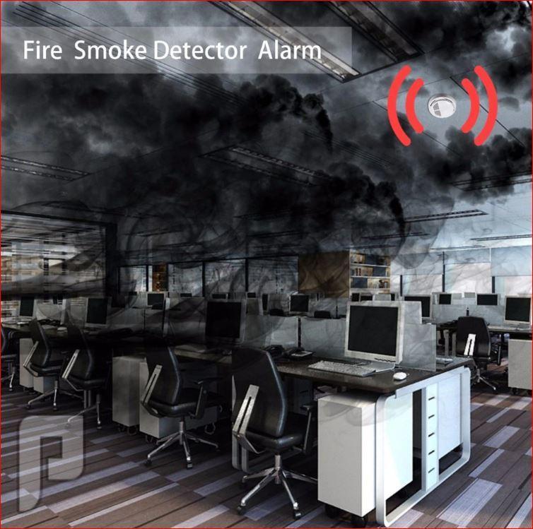 كاشف دخان الحريق
